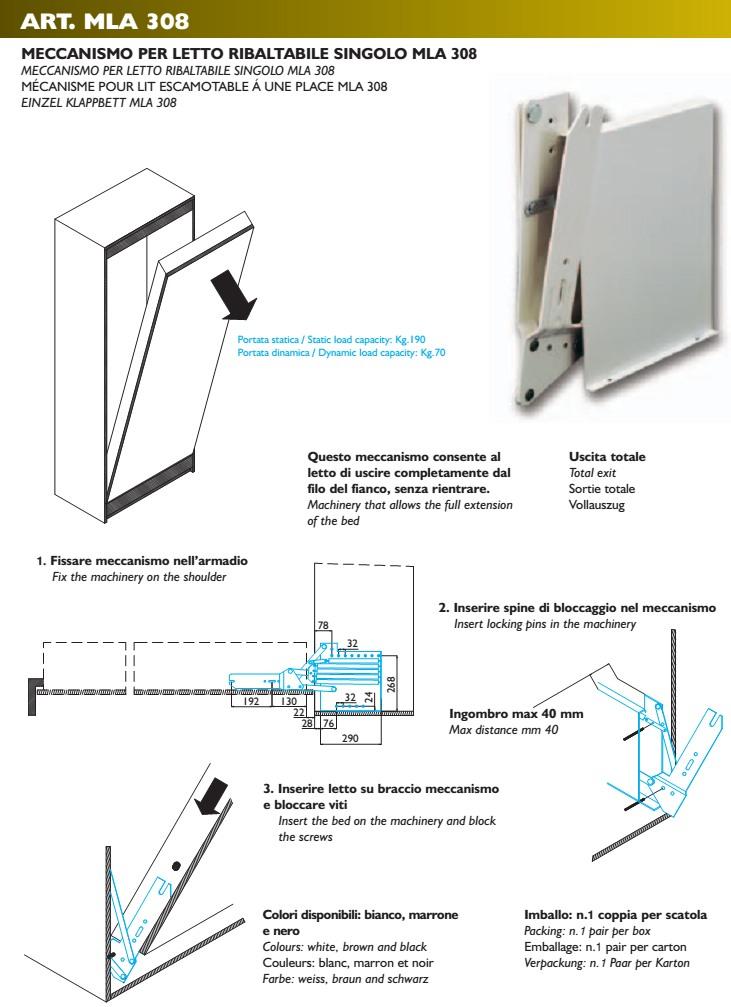 Mekanismi MLA 308 [MLA 308]  €229 00  keittiökalusteet netistä, myös liesit