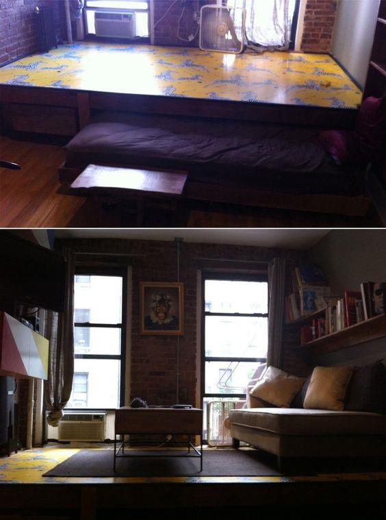 Piilosänky olohuoneessa [Ps4]  keittiökalusteet netistä, myös liesituuletin,
